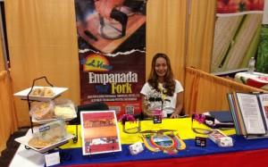 Empanada Fork booth