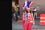 Desnudas in Times Square
