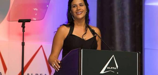 Yvonne Garcia ALPFA Most Powerful Latinas