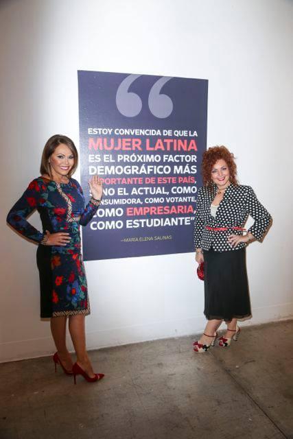 Mariela Dabbah with Maria E Salinas