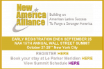 New America Alliance Wall Street Summit Announcement