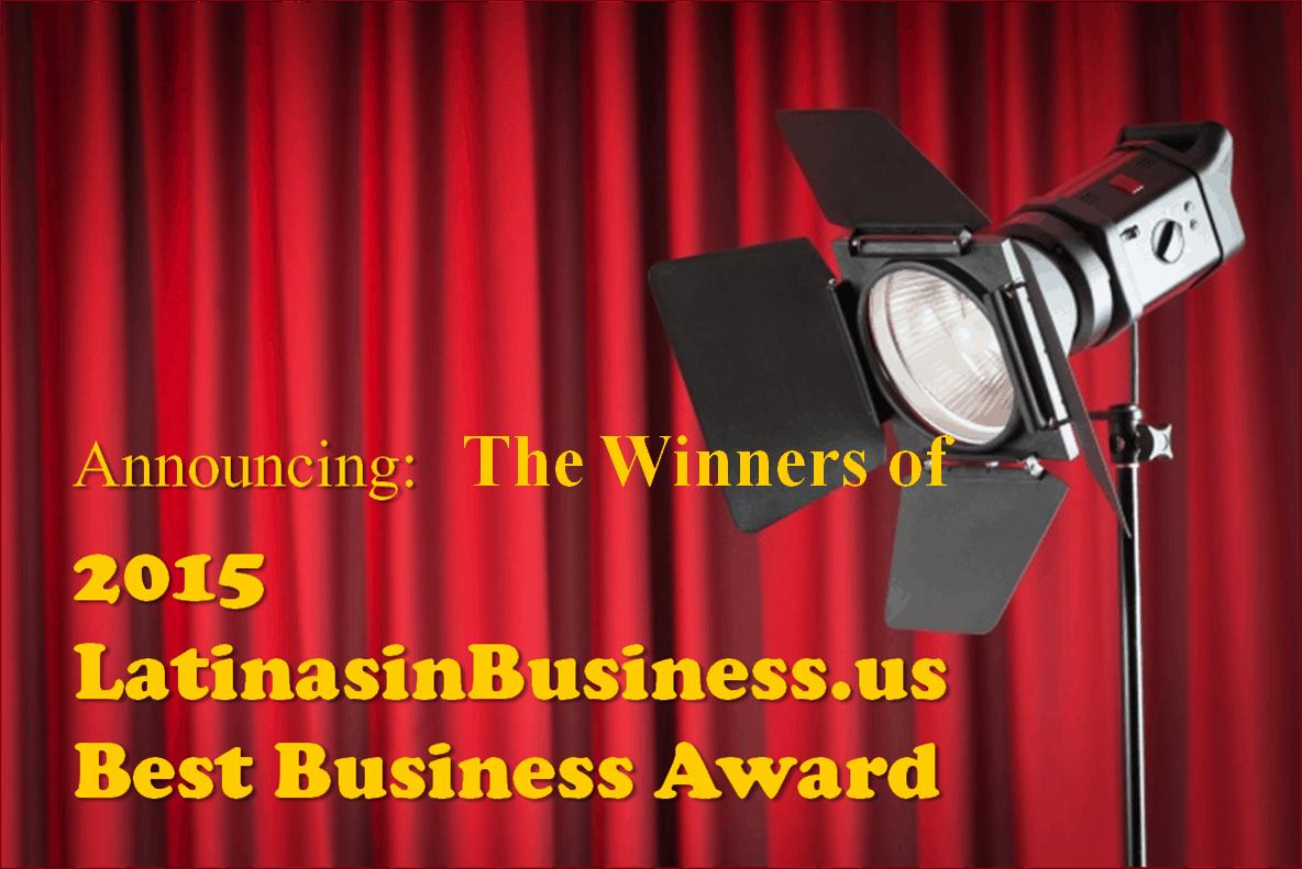 Winner LIBizus 2015 Best Business Award