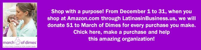 March of Dimes pledge