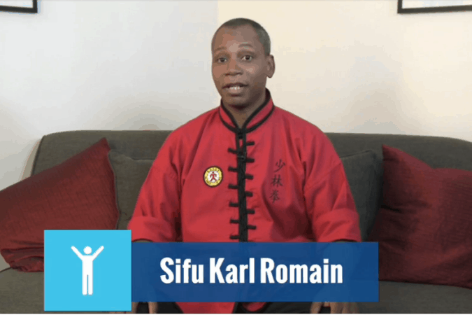 Sifu Karl Romain, taichiforhealthyliving.com