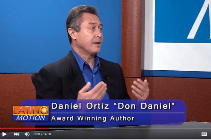 Daniel Ortiz at Latino Motion