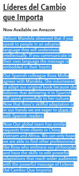 Rosa Mollo book announce