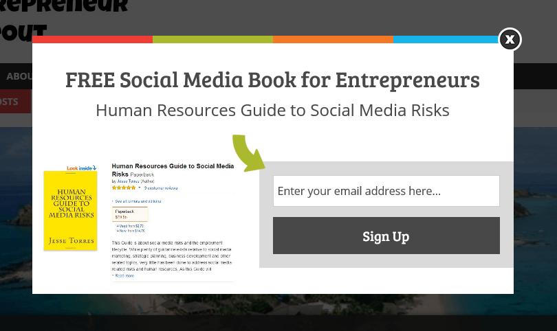 Ebook popup