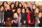 AccessLatinas finalist with co-founders Lucienne Gigante and Marta Michelle