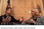 Susana G Baumann interview with Don Daniel Ortiz for American Dream Latin Souls on YouTube