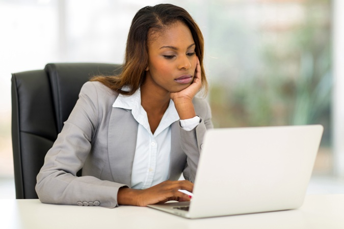 African American business woman government contracts