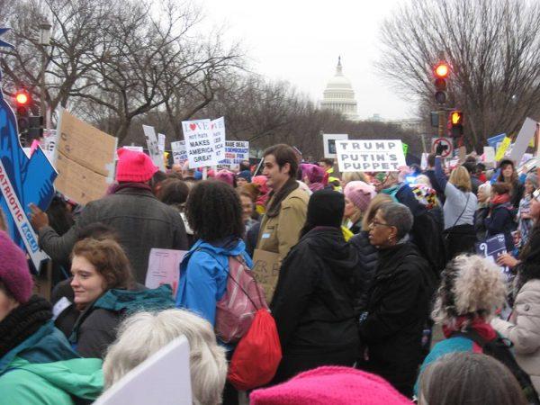 Women;s March on Washington (Photo by Bobbi Pratt)