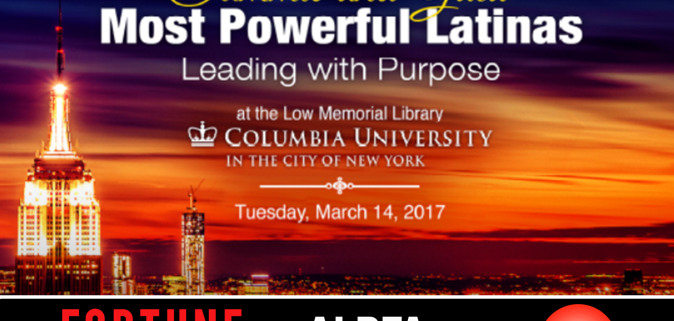 100 Most Powerful Latinas flyer feature