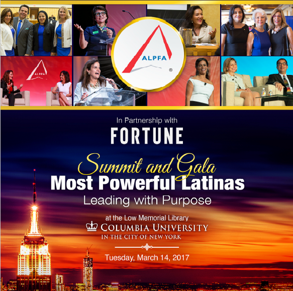 100 Most Powerful Latinas flyer