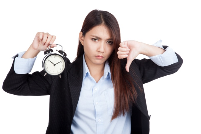the cost of tardiness