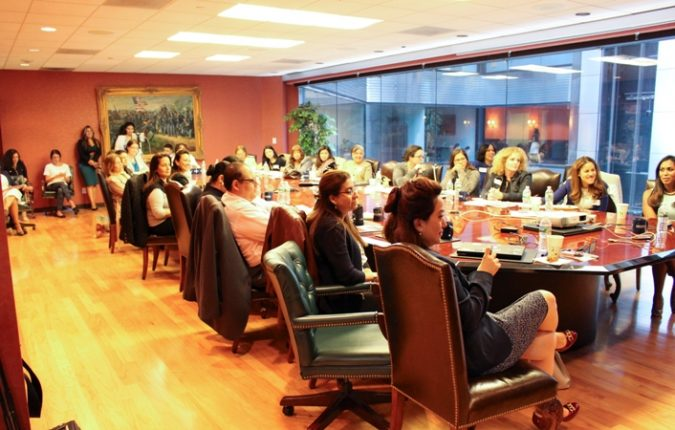 female leadership 2017 business retreat