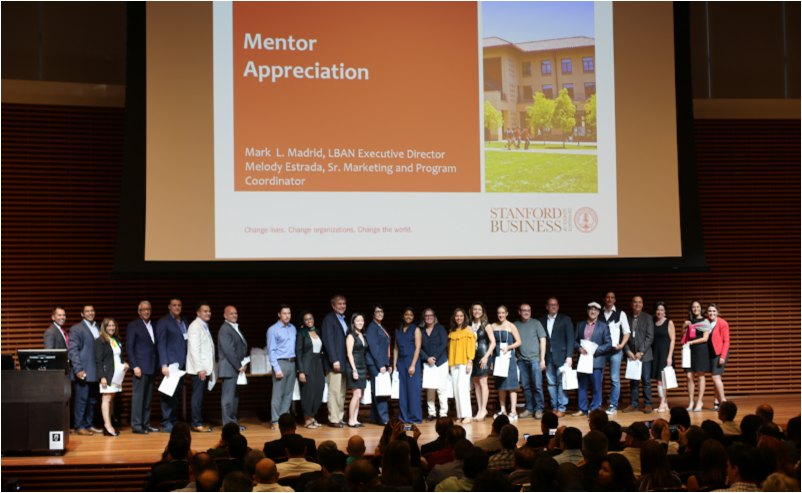 Mentor Appreciation's Ceremony at Stanford