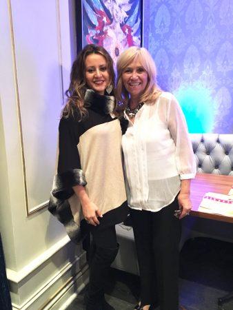 Ana Larrea-Albert and Susana G Baumann at the 2016 Latina Best Business Awards