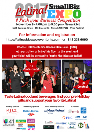 Latina entrepreneurs flyer