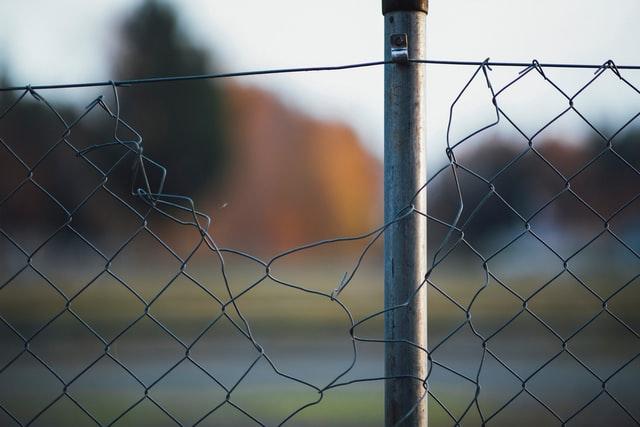 border, fence,