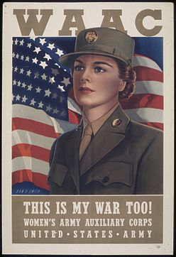 Latinas in the military, World War II, WWII, Women's Army Auxiliary Corps