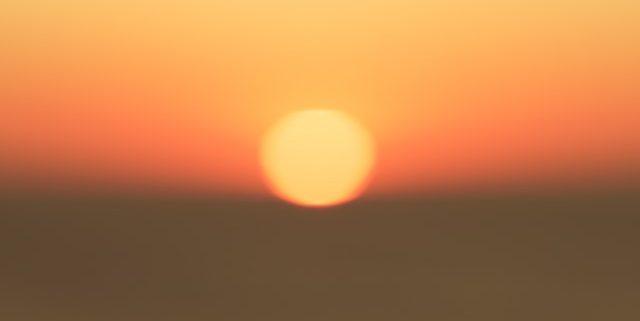 heat wave, sunset,