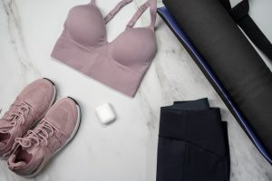 exercise clothes,