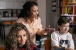 teachers, latina teacher, students